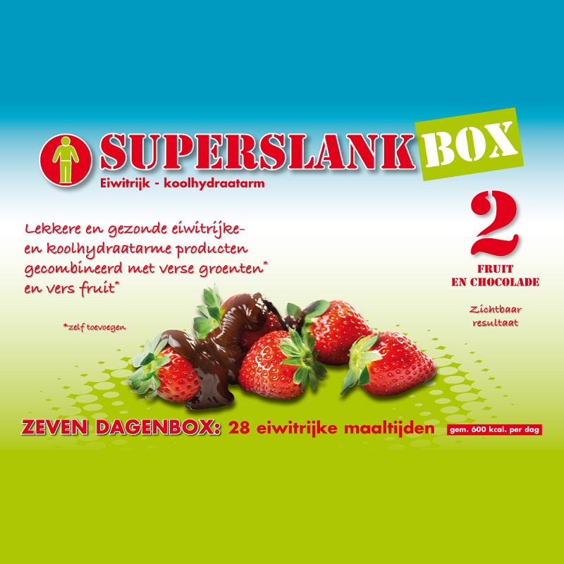 SuperslankBox 2 | Fruit & Chocolade