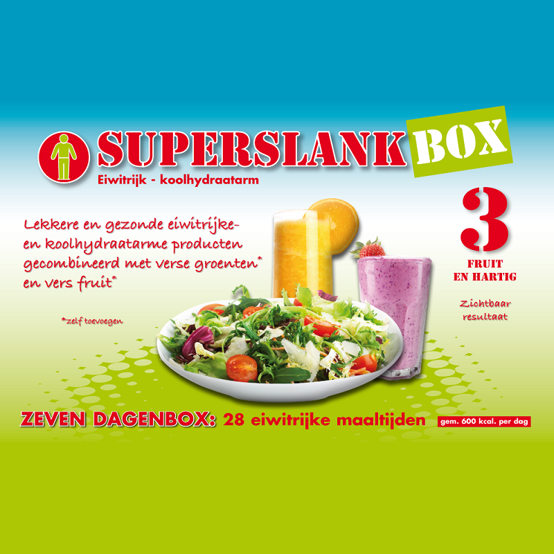 Superslankbox 3 | Fruit & Hartig