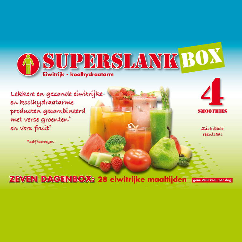 SuperslankBox 4 | Smoothies