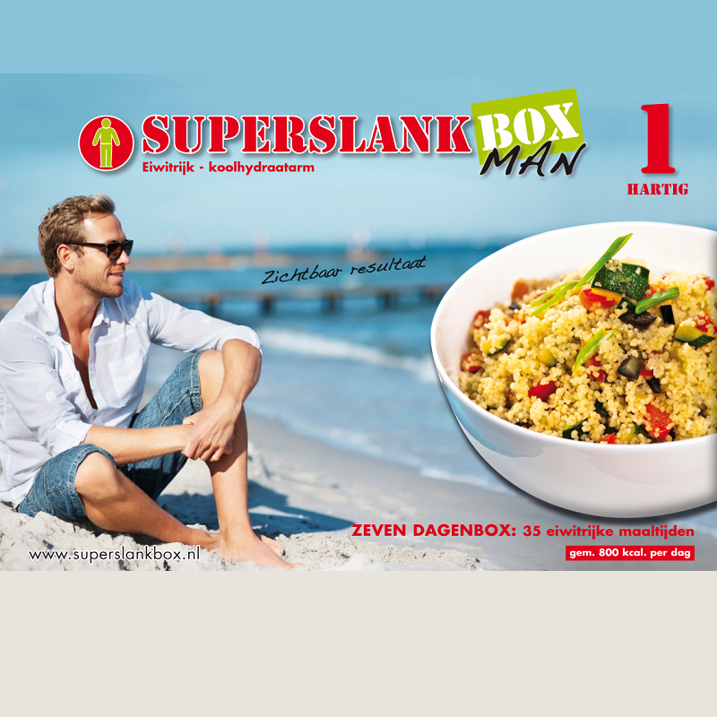 SuperslankBox Man 1 | Hartig