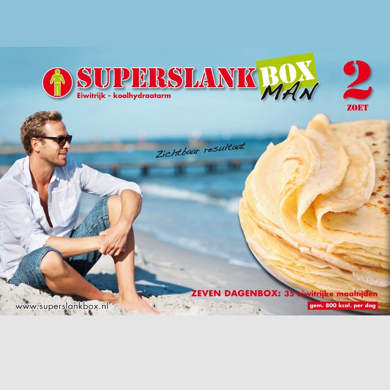 SuperslankBox Man 2 | Zoet