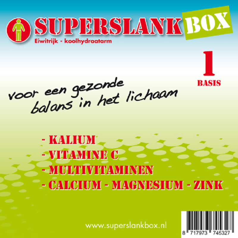 SuperslankBox Voedingssupplementen Basis