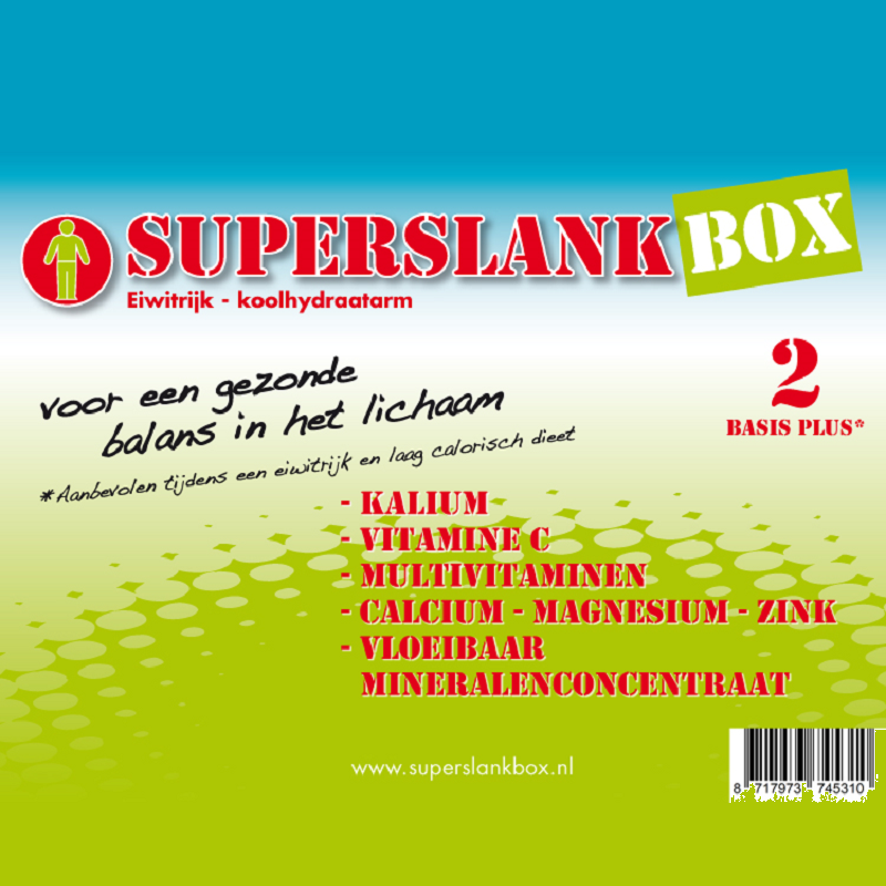 SuperslankBox Voedingssupplementen Basis Plus